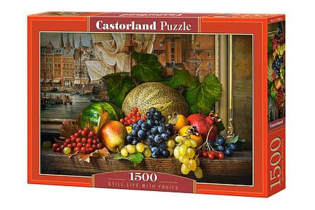 Пазлы Натюрморт с фруктами, Still Life with Fruits на 1500 элементов, фото 2