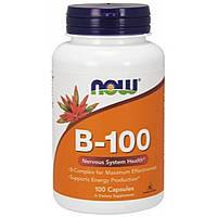 Комплекс витаминов группы B    B-100 100 капсул до 01/20года