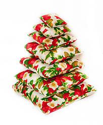 Набор новогодних подушек из 7 шт Рождество