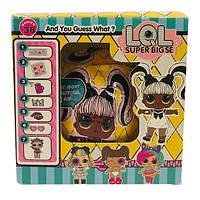 Кукла L.O.L. Surprise - Super Big LiL Sisters Hairgoals с волосами Шар в упаковке