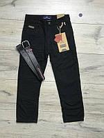 Утепленные катоновые брюки на флисе. 116 рост.