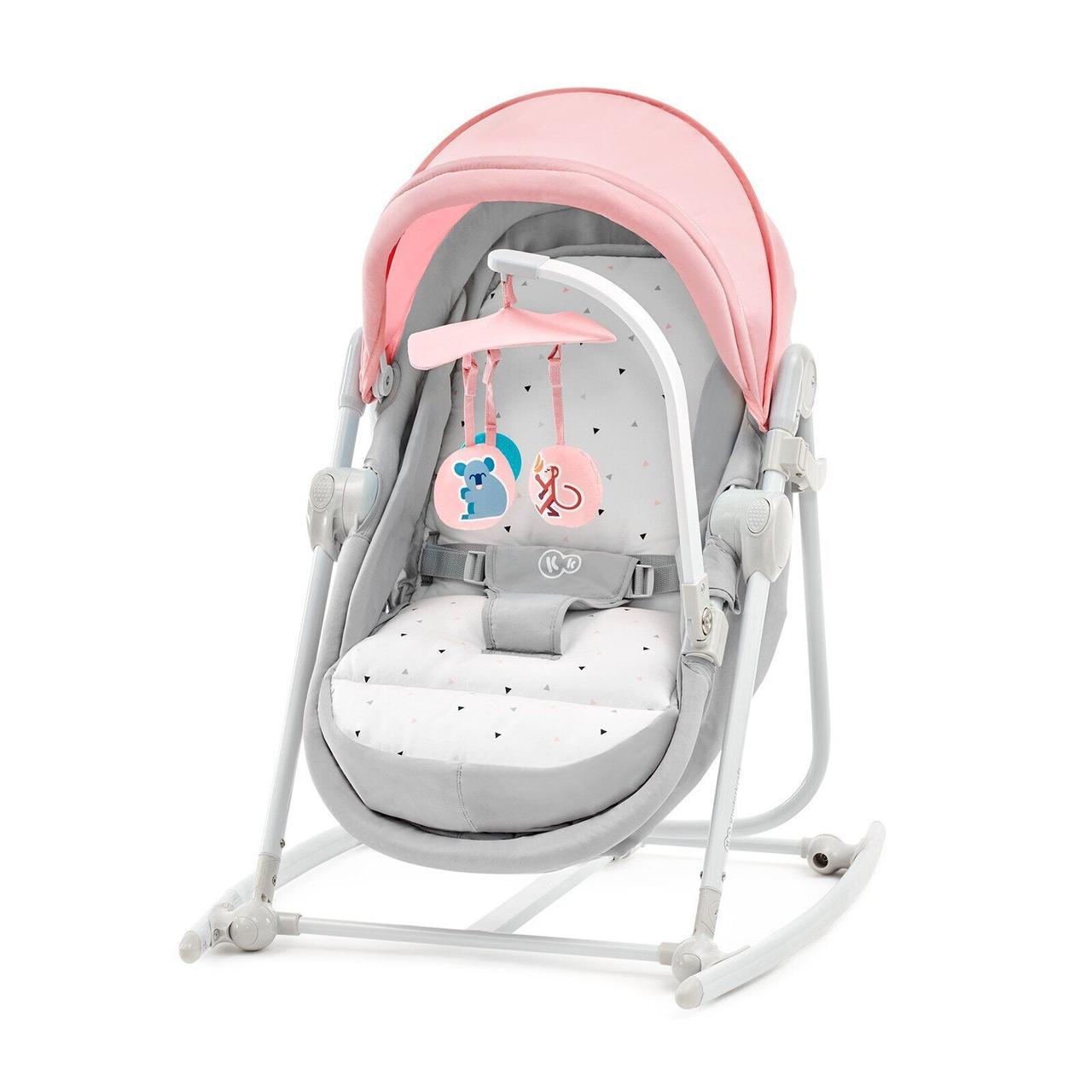 Шезлонг-качалка 5 в 1 Kinderkraft Unimo Pink (KKBUNIMPNK0000)