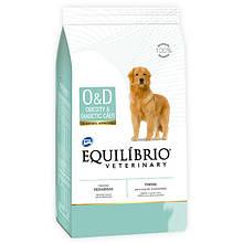 Лечебный корм для собак с ожирением или диабетом Equilibrio Veterinary Dog Obesity & Diabetic 7,5 кг