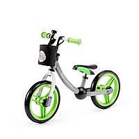 Беговел Kinderkraft 2Way Next Green/Gray (KKR2WNXGRE00AC)