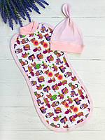 Пеленка кокон для новорожденных Баранчик БО 024-01-03-0007