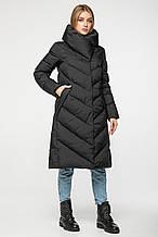 Женский зимний пуховик-одеяло с капюшоном CLASNA CW19D536CW_#701_черный