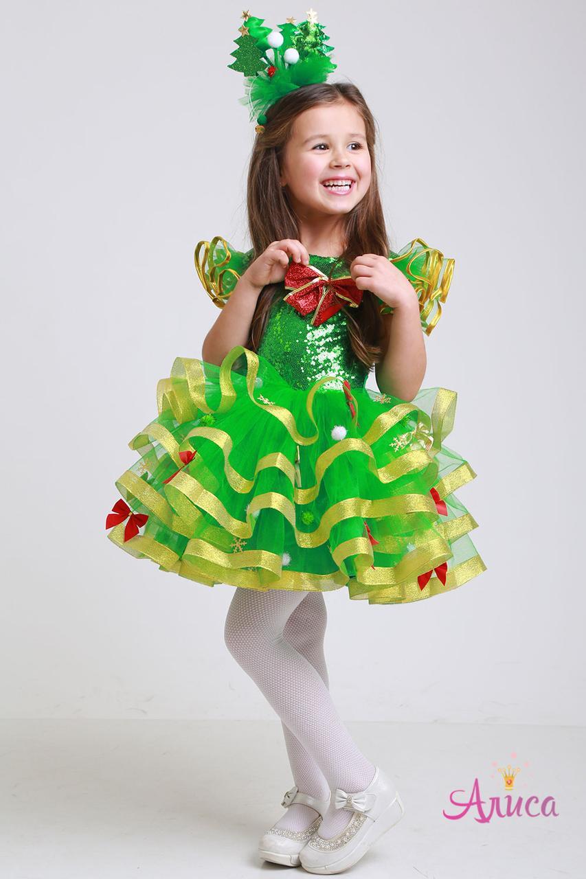 Карнавальный костюм Ёлочка для девочки