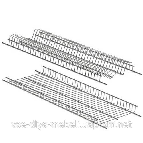 Набор сушек  450 мм для чашек и тарелок, нержавеющая сталь (400х224 мм)