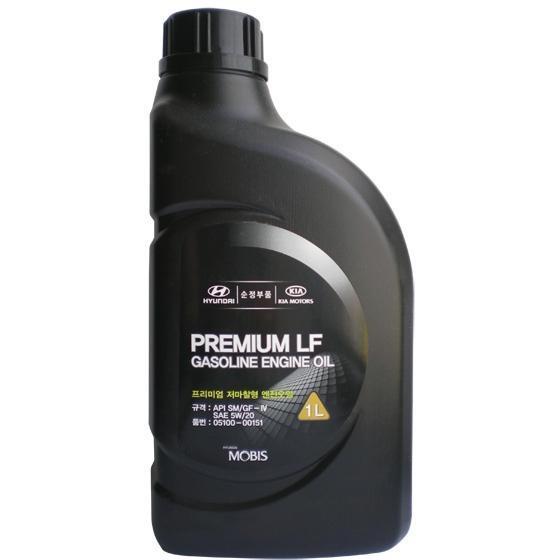 Моторное масло Hyundai Premium LF Gasoline 5W-20 (1л) Оригинальное