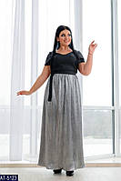 Нарядное платье в пол р-ры 50-56 арт 15.144