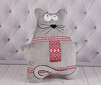 Мягкая игрушка Мышка с орнаментом, плюшевая подушка с национальной символикой