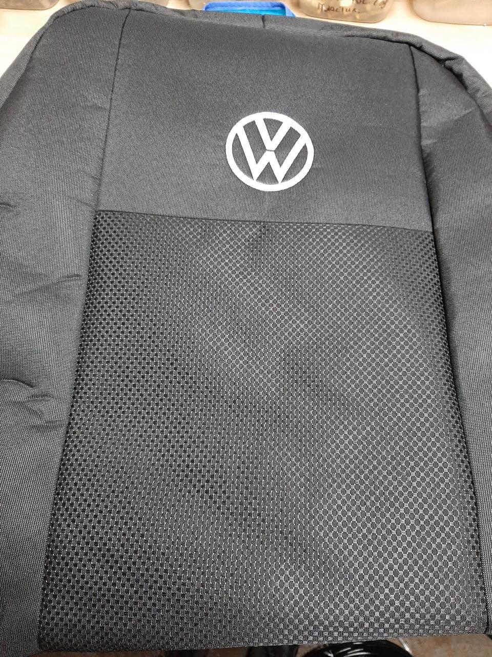 """Чехлы на Фольксваген Кадди (1+1) 2004-2015 / авто чехлы Volkswagen Caddy """"Prestige"""" эконом"""