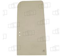 Стекло двери верхнее заднее мини экскаватора Fiat Hitachi EX60-5, EX100-5, EX130-5, EX135-5