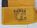 Перчатки кожаные комбинированные ORIOLE CERVA, фото 2