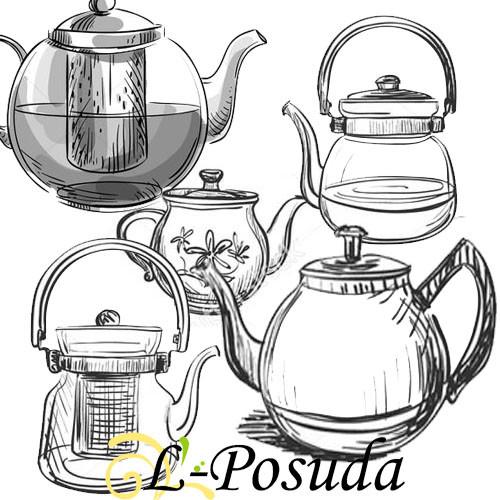 Чайники заварочные (заварники)