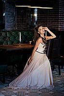 Выпускное платье из нежного шифона