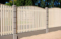 Дерев'яний паркан для дачі LNK