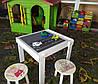 Детский столик-песочница игровой Yuliana с игровой поверхностью, фото 4