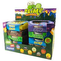 Слайм Воздушный Вкусняшные Запашные Фрукты с пузырками Slime Fruits 300 мл