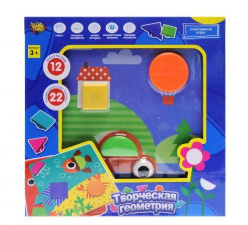 """Мозаїка для найменших """"Творча геометрія"""" (коробка) YG787-7 р.31*32*5,5см, фото 2"""