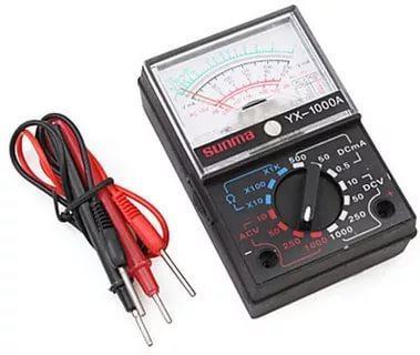 Стрелочный мультиметр YX 1000A тестер вольтметр