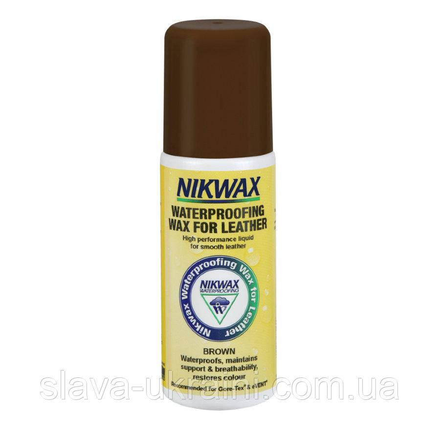 Просочення Для Виробів З Шкіри Nikwax Waterproofing Wax for Leather Brown 125ml