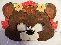 Карнавальная маска Медведица, фото 1
