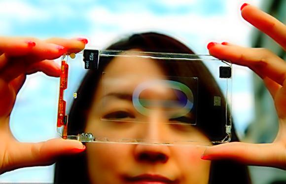 Прозрачный смартфон от компании Lenovo  Transparent smartphone from Lenovo