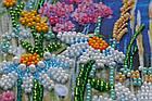 Набор для вышивки бисером Ромашковый этюд-2 (15 х 60 см) Абрис Арт AB-541, фото 2