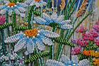 Набор для вышивки бисером Ромашковый этюд-2 (15 х 60 см) Абрис Арт AB-541, фото 5