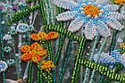 Набор для вышивки бисером Ромашковый этюд-2 (15 х 60 см) Абрис Арт AB-541, фото 4