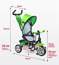Детский трехколесный  велосипед TOYZ TIMMY - CARETERO, фото 2