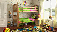 Кровать детская DA-KAS Жасмин Шале 90х200 см без матраца с каркасом