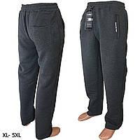 Спортивные мужские штаны теплые на флисе