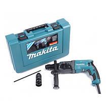 Перфоратор прямой Makita HR2470T + Кейс + Доп патрон, фото 2
