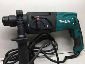 Перфоратор прямой Makita HR2470T + Кейс + Доп патрон, фото 3