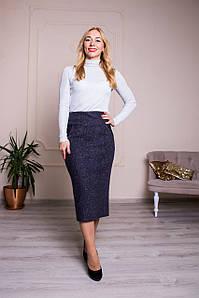 Женская юбка Янина серая