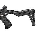 Арбалет пістолетного типу Man Kung MK-TCS2BK (довжина: 620мм, сила натягу: 18кг), чорний, фото 2