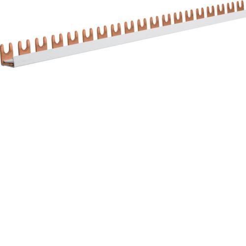 Фазная шина Hager 1P 16мм2 12M (KDN180B)