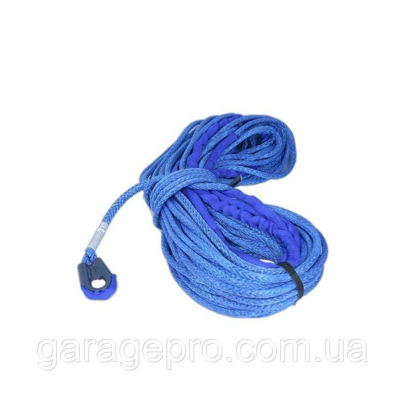 Синтетический (кевларовый) трос Samson AmSteel-Blue Samthane 30м 9мм