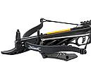 Арбалет пістолетного типу Man Kung MK-TCS2BK (довжина: 620мм, сила натягу: 18кг), чорний, фото 3