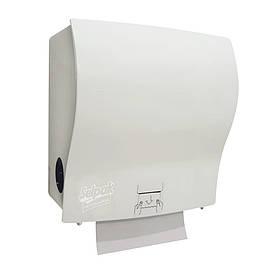 Тримач напівавтоматичний для паперових рушників білий Selpak Professional