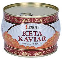Красная икра Кеты ТМ Лемберг ПРЕМИУМ 500 г, фото 1