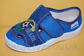 Детские Тапочки Waldi Украина 3243 для мальчиков голубой размеры 24_30