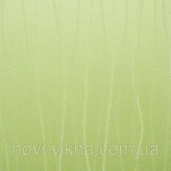Рулонные жалюзи закрытого типа, Grass 0873, зеленые.