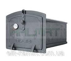Духовка печная чугунная с термометром Halmat PZT (Н1902) (245х310х455)