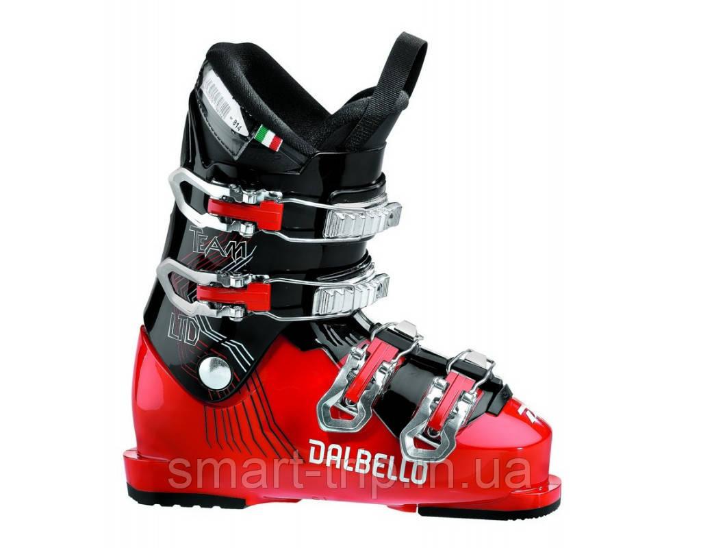 Черевики лижні Dalbello RTL-TEAM LTD 4.0 kids Red/Black (DRTEAJ7.RB.255)