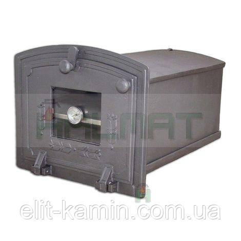 Духовка чавунна для печі з термометром Halmat PZST (Н1904) (245х310х455)