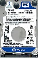 """Жесткий диск / Western Digital / WD5000LPVX_ / Mobile / 2.5"""" / WD Scorpio Blue / 500GB / SATA  6Gb/s / 8MB / заводское восстановление"""
