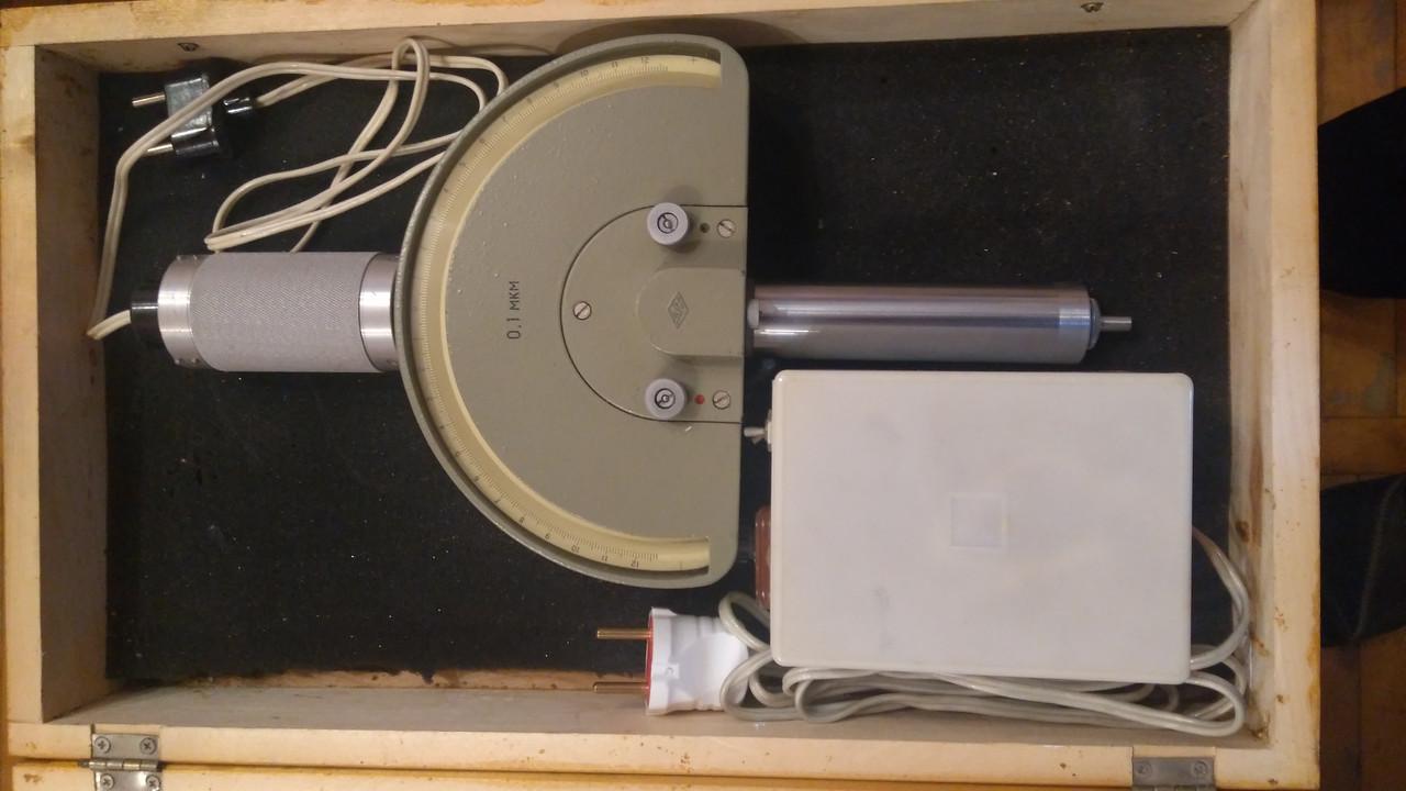 Оптикатор 01 П (головка измерительная пружинно-оптическая) ГОСТ 10593-86 возможна калибровка в УкрЦСМ